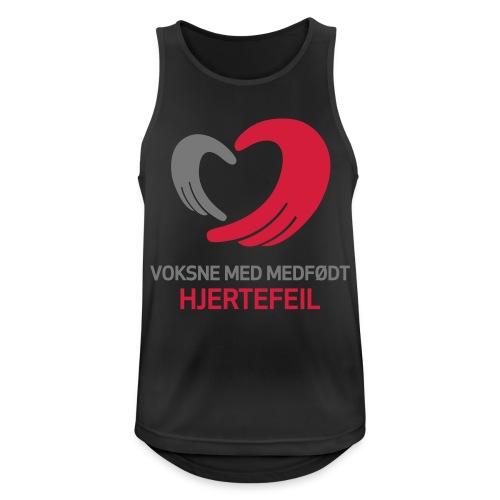 VMH__spreadshirt - Pustende singlet for menn