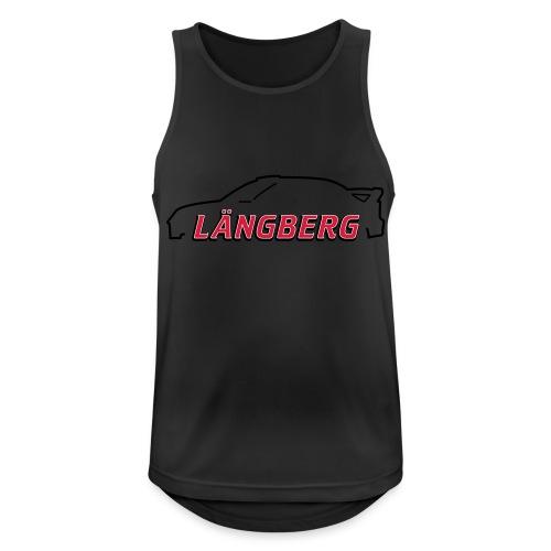 logotype Laengberg - Andningsaktiv tanktopp herr