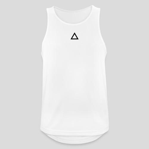 Triangle - Canotta da uomo traspirante
