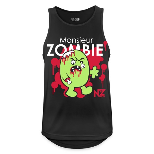 mr zombie - Débardeur respirant Homme