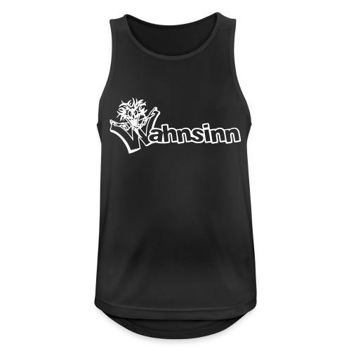 Wahnsinn Logo - Mannen tanktop ademend actief