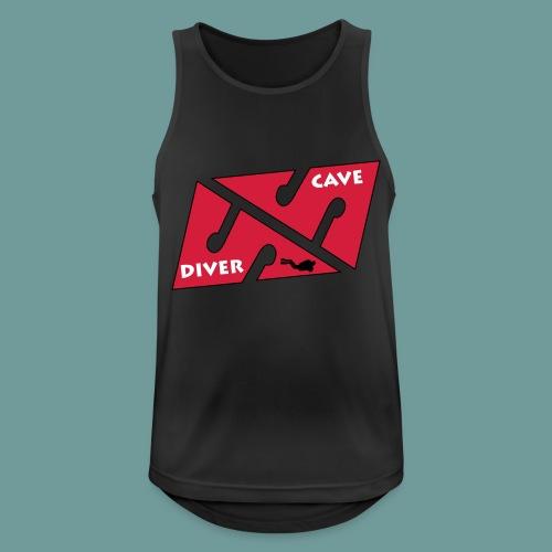 cave_diver_01 - Débardeur respirant Homme