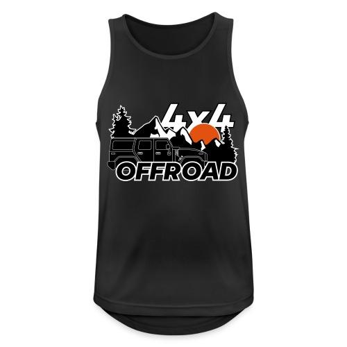 Offroad 4x4 Jeep Logo - Männer Tank Top atmungsaktiv