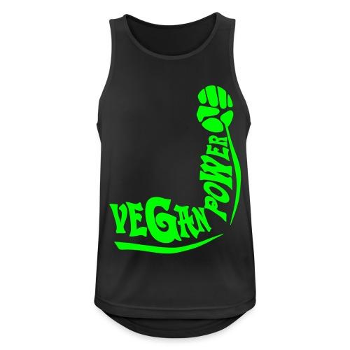 Vegan Power - Männer Tank Top atmungsaktiv
