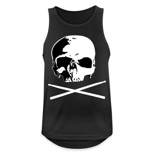 skull and sticks - Männer Tank Top atmungsaktiv