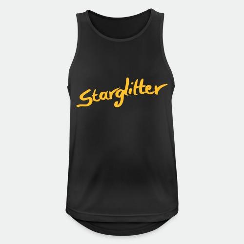 Starglitter - Lettering - Men's Breathable Tank Top