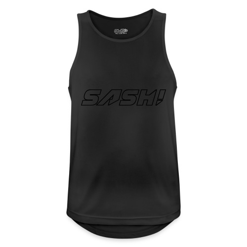 SASH! Empty Logo - Men's Breathable Tank Top