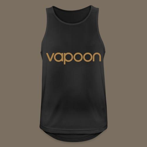 Vapoon Logo simpel 01 - Männer Tank Top atmungsaktiv