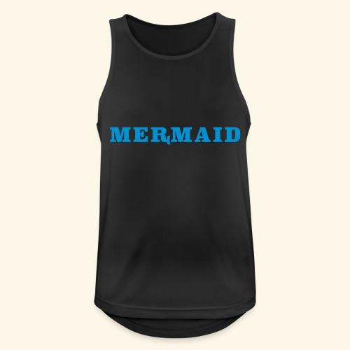 Mermaid logo - Andningsaktiv tanktopp herr