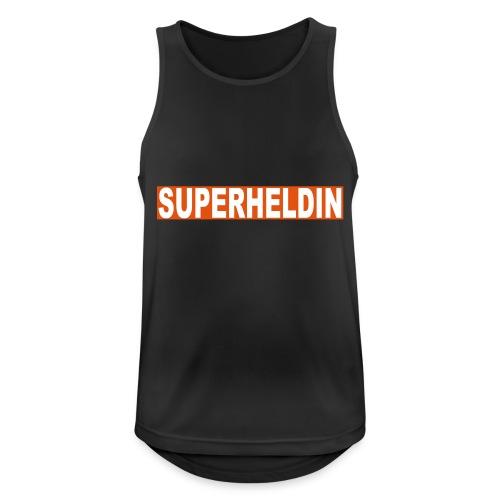 superheldin - Männer Tank Top atmungsaktiv