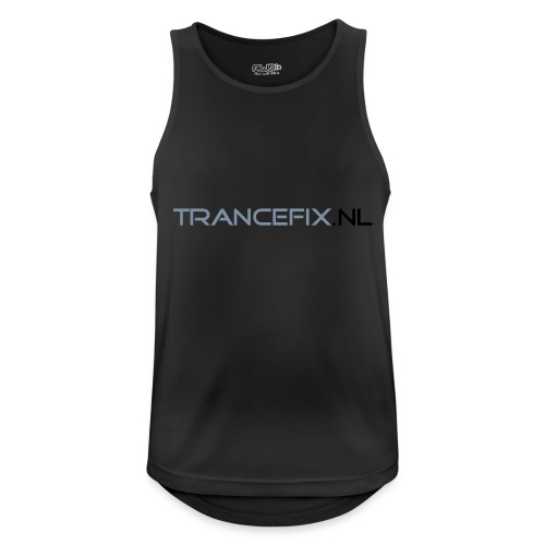 trancefix text - Men's Breathable Tank Top