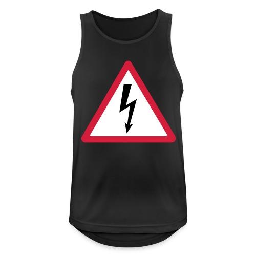 blitz - Männer Tank Top atmungsaktiv