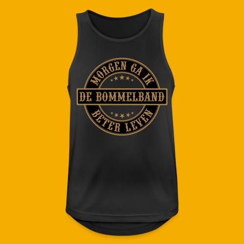 bb logo rond shirt - Mannen tanktop ademend