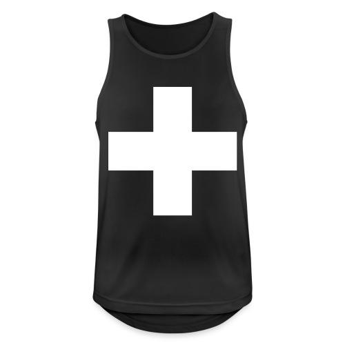 Kreuz - Männer Tank Top atmungsaktiv