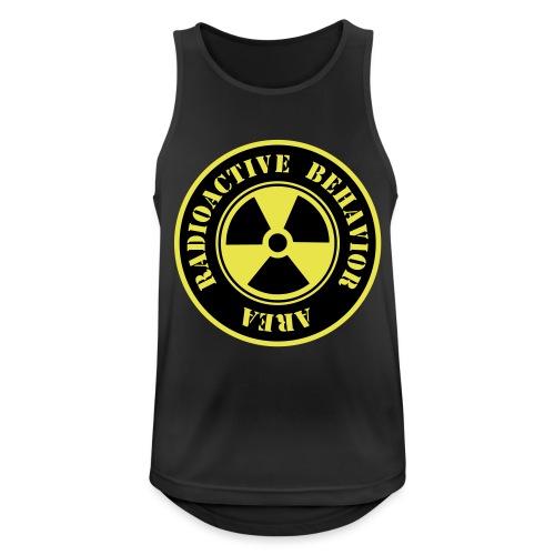 Radioactive Behavior - Camiseta sin mangas hombre transpirable