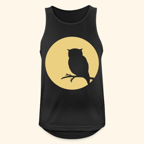 Moon owl - Männer Tank Top atmungsaktiv