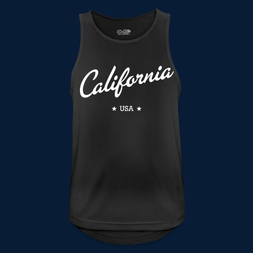 California - Männer Tank Top atmungsaktiv