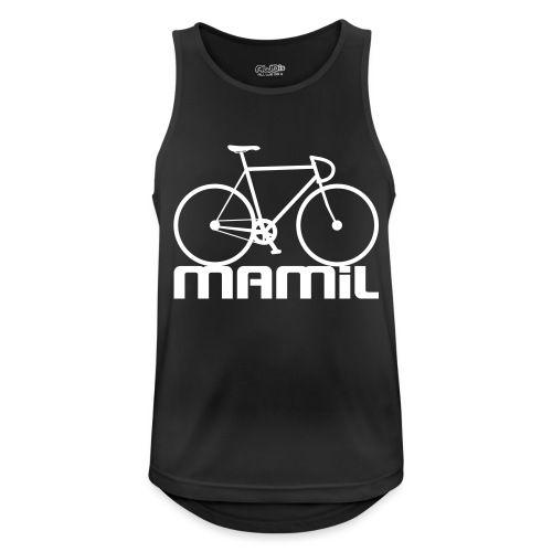 MAMiL Water bottle - Men's Breathable Tank Top