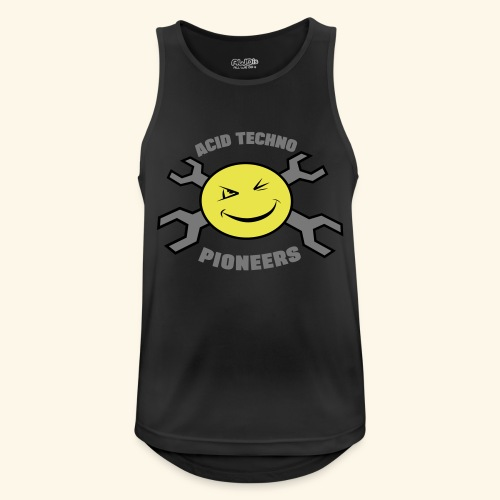 ACID TECHNO PIONEERS - SILVER EDITION - Men's Breathable Tank Top