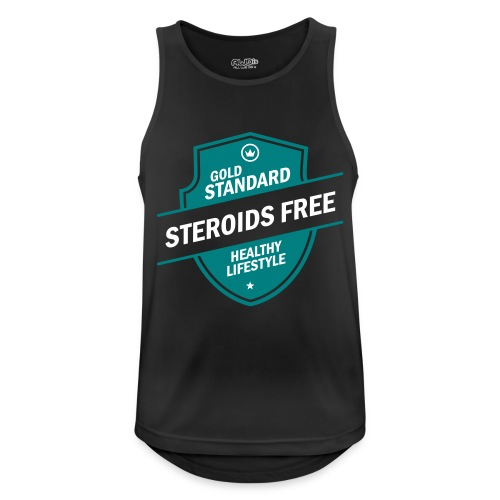 GoldStd-SteroidsFree-33 - Men's Breathable Tank Top