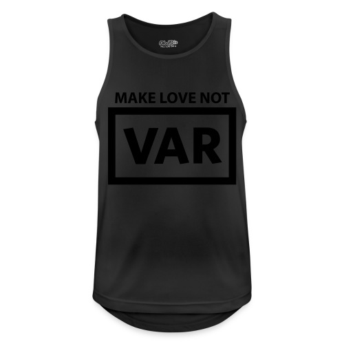 Make Love Not Var - Mannen tanktop ademend