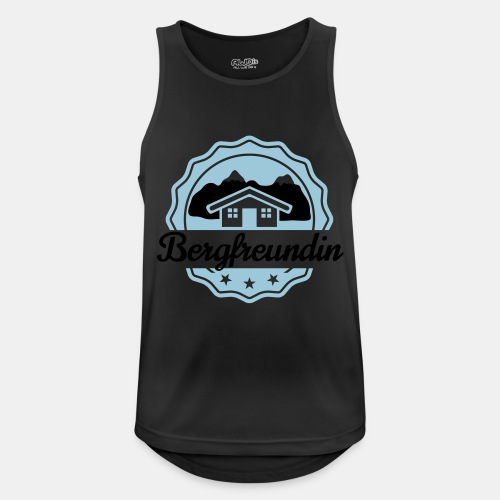 Bergfreundin - Männer Tank Top atmungsaktiv