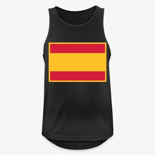 Banderola española - Camiseta sin mangas hombre transpirable
