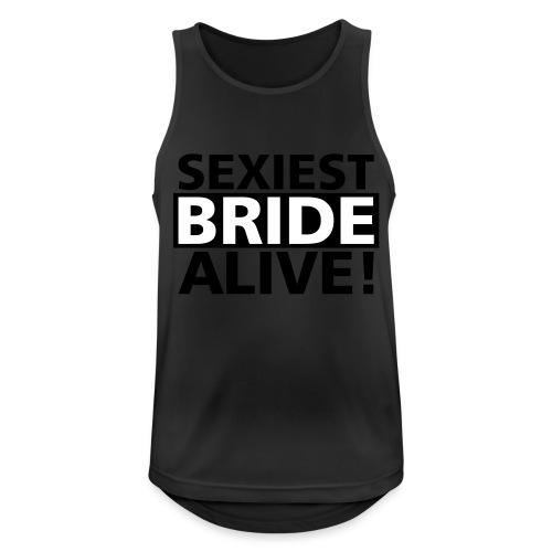 sexiest bride alive - Männer Tank Top atmungsaktiv