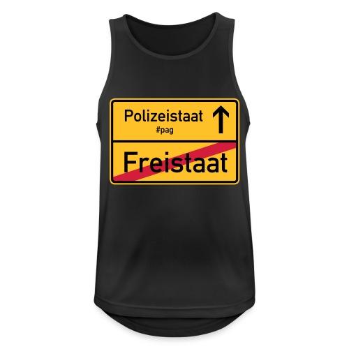 Freistaat Bayern Polizeistaat - Männer Tank Top atmungsaktiv