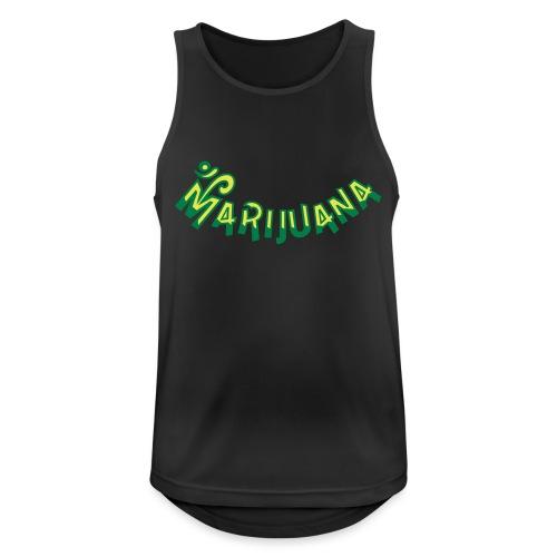 Om Marijuana - Men's Breathable Tank Top