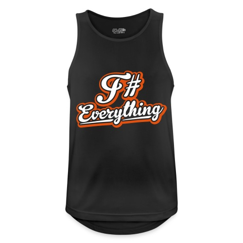 F# Everything - Men's Breathable Tank Top
