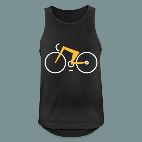 Bikes against cancer - Herre tanktop åndbar