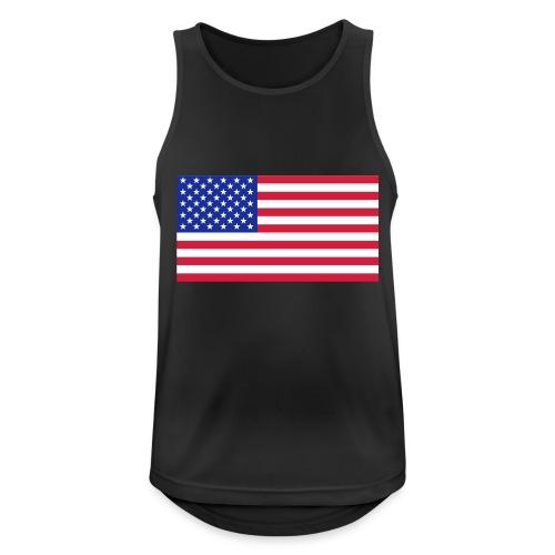 USA / United States - Mannen tanktop ademend