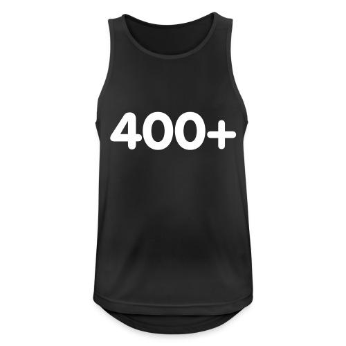 400 - Mannen tanktop ademend