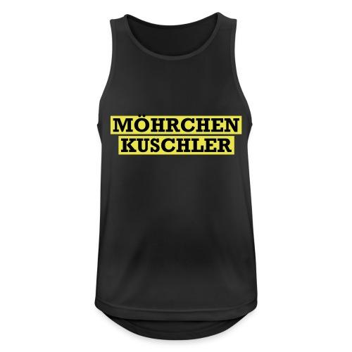 Möhrchenkuschler - Männer Tank Top atmungsaktiv