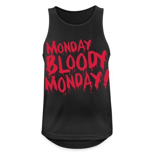 Monday Bloody Monday! - Mannen tanktop ademend actief