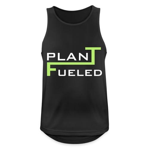 PLANT FUELED - Männer Tank Top atmungsaktiv