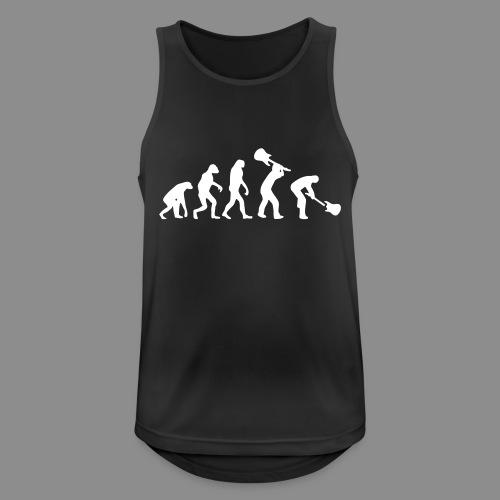 Evolution Rock - Camiseta sin mangas hombre transpirable