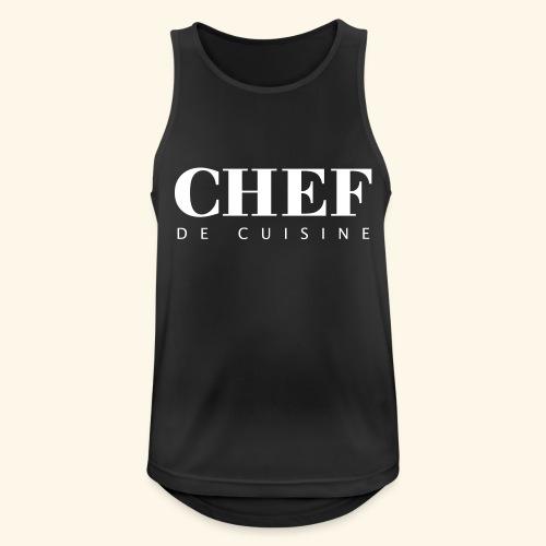 BOSS de cuisine - logotype - Men's Breathable Tank Top