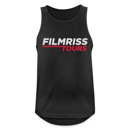 FILMRISS TOURS – lustiges Shirt für Partys, JGA - Männer Tank Top atmungsaktiv