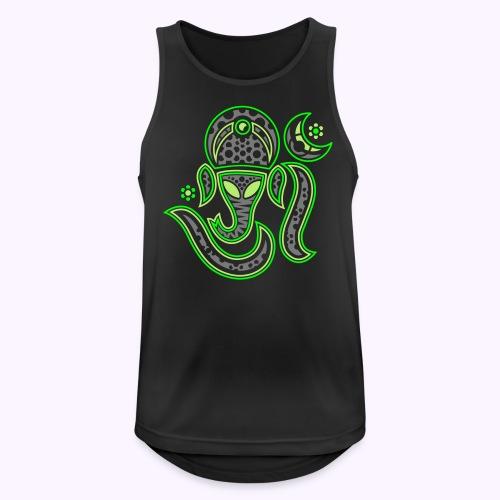 Aum Ganesha 3 Color - Men's Breathable Tank Top