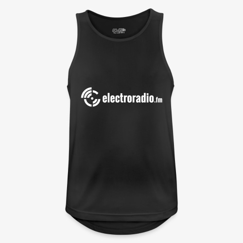 electroradio.fm - Männer Tank Top atmungsaktiv