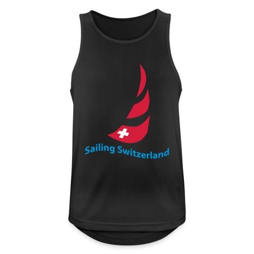 logo sailing switzerland - Männer Tank Top atmungsaktiv