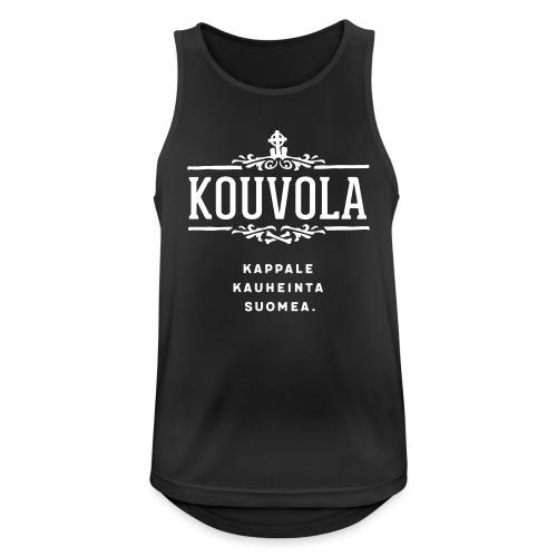 Kouvola - Kappale kauheinta Suomea. - Miesten tekninen tankkitoppi