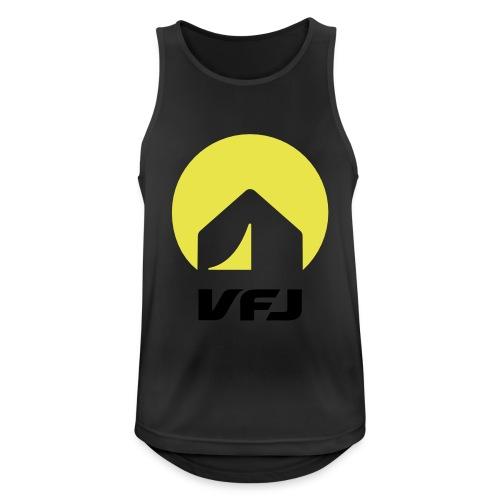 VfJ Logo 2013 shriftschwa - Männer Tank Top atmungsaktiv
