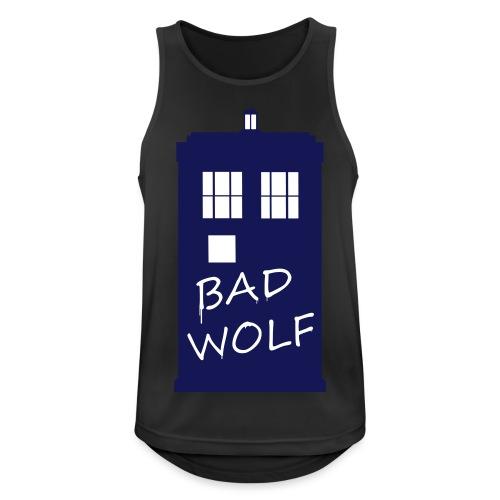Bad Wolf Tardis - Débardeur respirant Homme