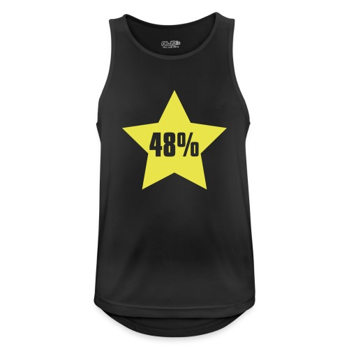48% in Star - Men's Breathable Tank Top