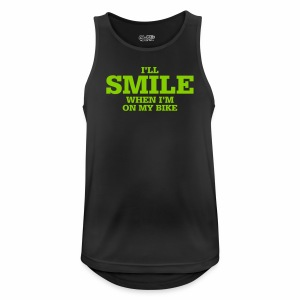 i will smile - Männer Tank Top atmungsaktiv