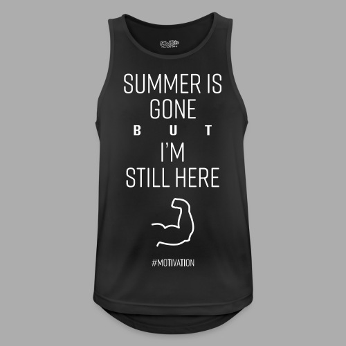 SUMMER IS GONE but I'M STILL HERE - Men's Breathable Tank Top