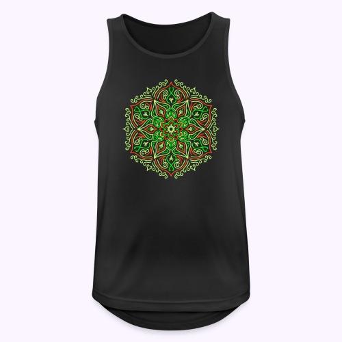 Feu Lotus Mandala - Débardeur respirant Homme